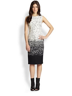Burberry Prorsum - Ombr&eacute; Speckled Wool Dress