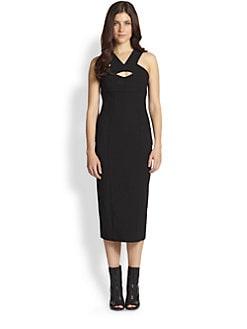 Burberry Prorsum - Cutout Stretch Jersey Dress