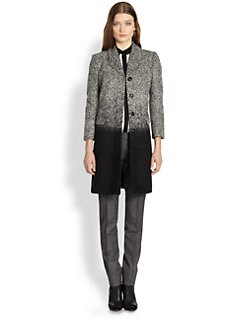 Burberry London - Ombré Herringbone Coat