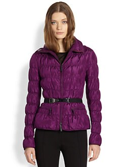 Burberry London - Ruched Quilted Puffer Coat