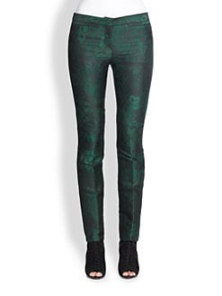 Burberry Prorsum - Jacquard Slim-Fit Pants