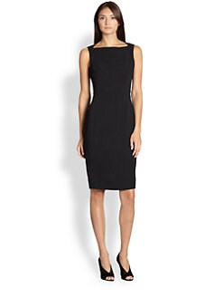 Burberry London - Boatneck Shift Dress