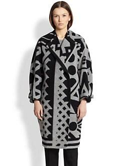 Burberry Prorsum - Wool & Cashmere Blanket Coat
