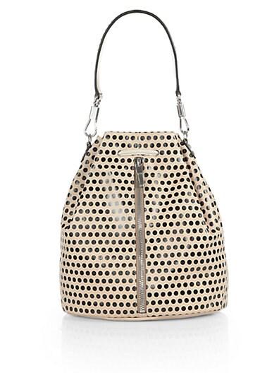 Polka Dot Sling Backpack