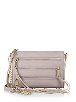 Rebecca Minkoff - Mini 5 Zip Crossbody Bag