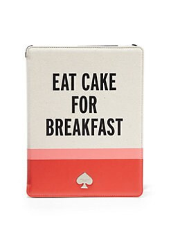 Kate Spade New York - Eat Cake For Breakfast Folio Hardcase for iPad?