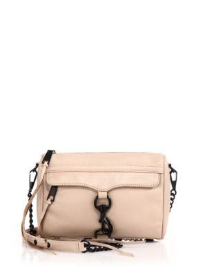 Mini MAC Leather Crossbody Bag