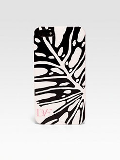 Diane von Furstenberg - Animal Leaf Printed Hardcase For iPhone 5