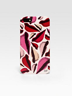 Diane von Furstenberg - New Lips Printed Hardcase For iPhone 5