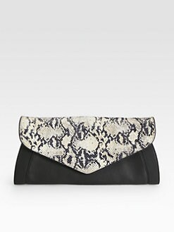 See by Chloe - Anna Mixed-Media Clutch
