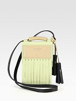 Acne - Larcie Fringe Colorblock Crossbody