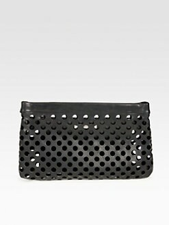 Acne - Olivine Hole Clutch