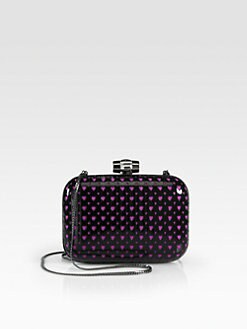 Love Moschino - Perforated Heart Evening Clutch