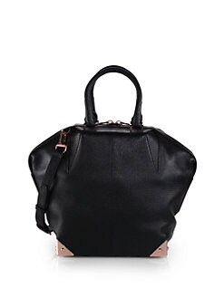 Alexander Wang - Emile Small Pebbled-Leather Tote