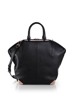 Alexander Wang - Emile Large Pebbled Leather Tote