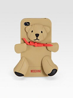 Love Moschino - Porta Teddy Softcase for iPhone 4 /4s