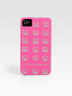 Rebecca Minkoff - Pyramid Stud Printed Hardcase for iPhone 5