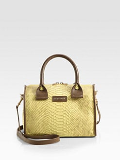 See by Chloe - April Snake Embossed Leather Big Duffel