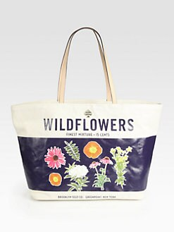 Kate Spade New York - Wildflowers Coated Canvas Tote