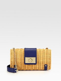 Kate Spade New York - Jeanetta Wicker Shoulder Bag