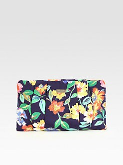 Kate Spade New York - April Floral Twill Clutch