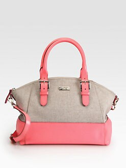 Kate Spade New York - Sloan Small Mixed-Media Satchel