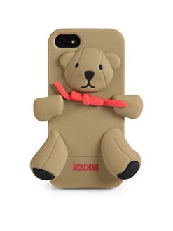 Love Moschino - Teddy Bear Softcase For iPhone 5