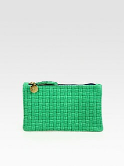 CLARE VIVIER - Weave Wallet Clutch