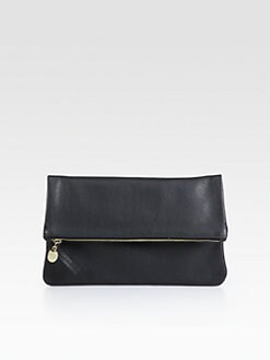 CLARE VIVIER - Fold-Over Pelli Clutch