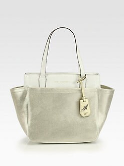 Diane von Furstenberg - On-The-Go Metallic Leather Tote