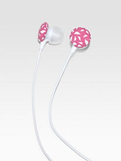Diane von Furstenberg - Printed Lips Ear Buds
