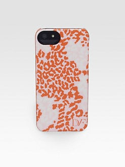 Diane von Furstenberg - Snow Leopard Case For iPhone5
