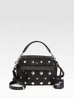 Diane von Furstenberg - Milo Studded Mini Crossbody Bag