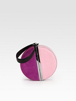Diane von Furstenberg - Colorblock Circle Clutch