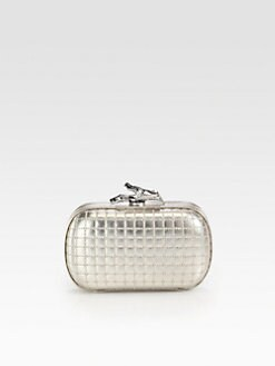 Diane von Furstenberg - Lytton Quilted Metallic Clutch