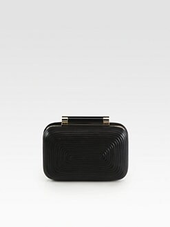 Diane von Furstenberg - Tonda Ridged Clutch