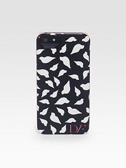 Diane von Furstenberg - Logo Silhouette Hardcase For iPhone 5