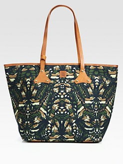 McQ Alexander McQueen - Medium Printed Canvas Shoulder Bag