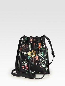 3.1 Phillip Lim - Scout Floral Printed Canvas Crossbody
