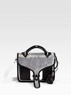 Opening Ceremony - Leather Small Top Handle Bag