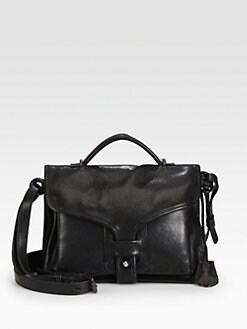 Opening Ceremony - NY Leather Large Top Handle Bag
