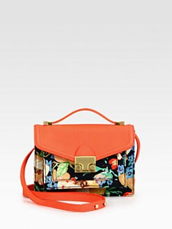 Loeffler Randall - Rider Mini Mixed-Media Crossbody