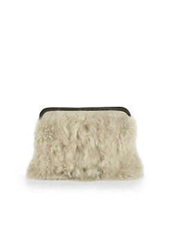 3.1 Phillip Lim - 31 Minute Shearling Cosmetic Bag