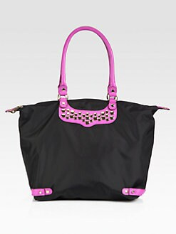 Rebecca Minkoff - Embellished Nylon Travel Tote