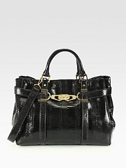 Rachel Zoe - Hutton Snakeskin Medium Tote