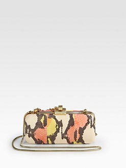 Rachel Zoe - Margaux Snakeskin Minaudiere