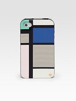 Kate Spade New York - Mondrian-Inspired Hardcase For iPhone 4 & 4S