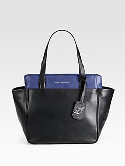 Diane von Furstenberg - On-The-Go Colorblock Leather Tote