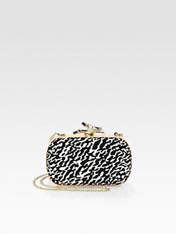 Diane von Furstenberg - Lytton Abstract Printed Canvas Clutch