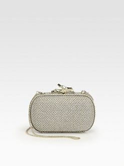 Diane von Furstenberg - Lytton Metallic Canvas Clutch